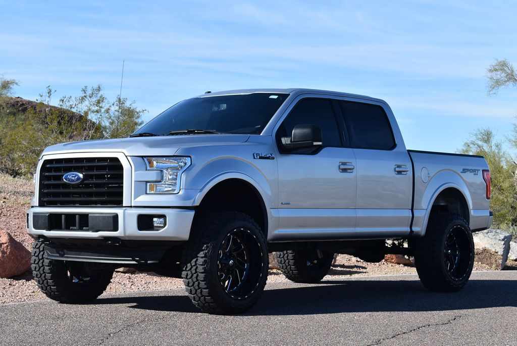 2016 Ford F150 Lifted >> 2016 Used Ford F 150 Lifted 2016 Ford F150 Supercrew Sport Pano Roof Bucket Seats At Truckmax Serving Pheonix Az Iid 19662559