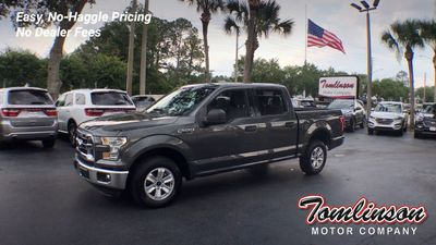 2019 Used Ford F-150 XLT 4WD SUPERCREW 5 5' BOX at Tomlinson Motor