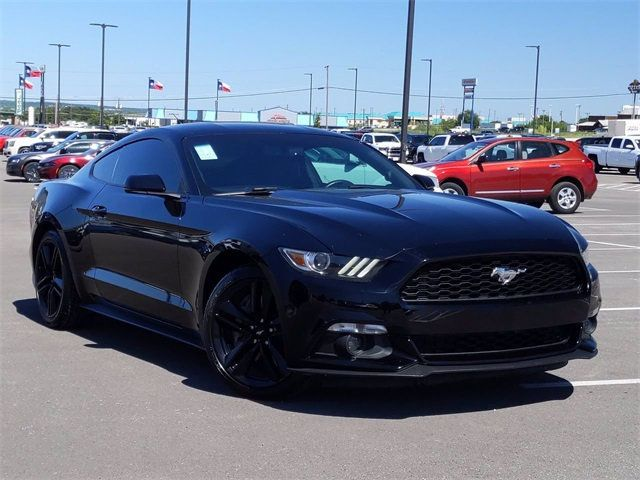 2016 Used Ford Mustang 2dr Fastback Ecoboost Premium At Dodge Country Used Cars Serving Killeen Tx Iid 20301938