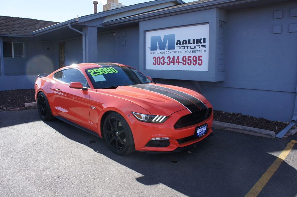 2016 Ford Mustang 2dr Fastback GT - 18482230 - 0