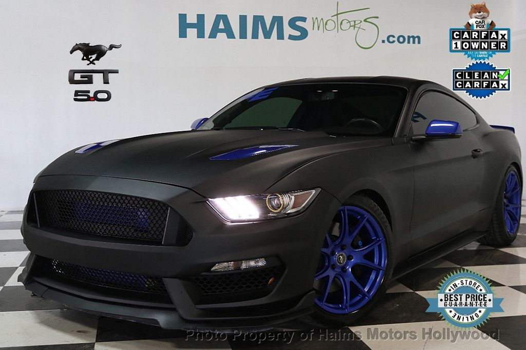 2016 Ford Mustang 2dr Fastback Gt Premium 17526352 0