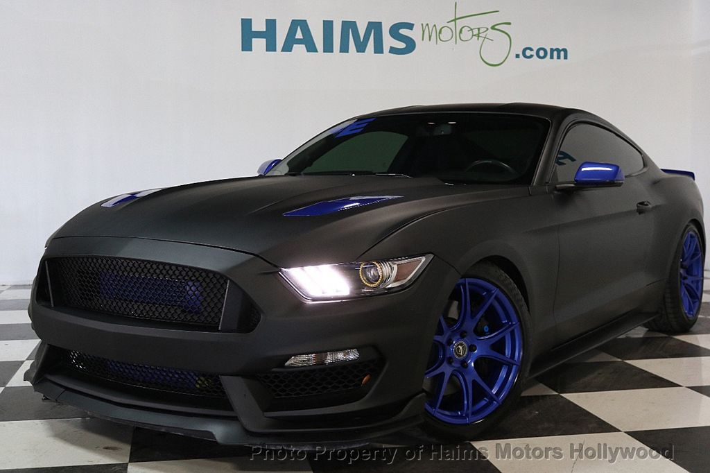 2016 Ford Mustang 2dr Fastback Gt Premium 17526352 1