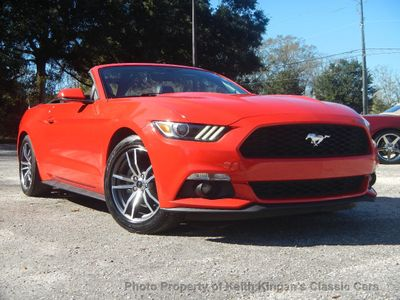 2016 Ford Mustang w/LEATHER & HEATED/COOLED SEATS - Click to see full-size photo viewer