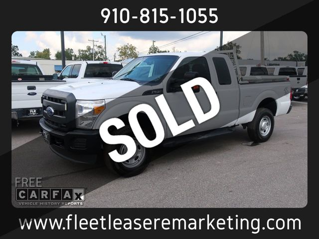 2016 Ford Super Duty >> 2016 Used Ford Super Duty F 250 Srw 4wd Super Cab With Tool Boxes At Fleet Lease Remarketing Serving Wilmington Nc Iid 19395841
