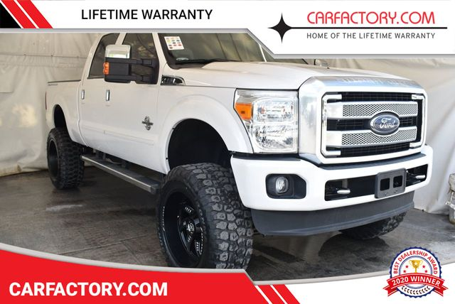 2016 Used Ford Super Duty F 250 Srw Plat Edition 4x4 Turbo Diesel 5
