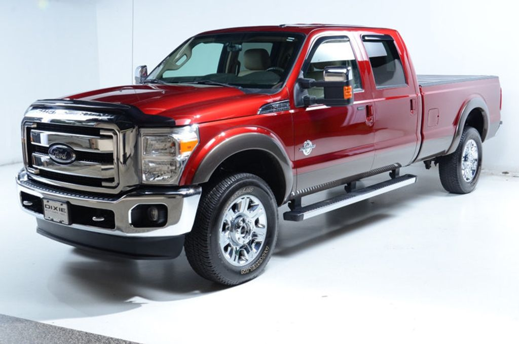 2016 Ford Super Duty F-350 SRW F350 SRW LONG BED LARIAT-DIESEL-NAV-ROOF-20S-COOLED-NEW MICHELIN - 16831362 - 3