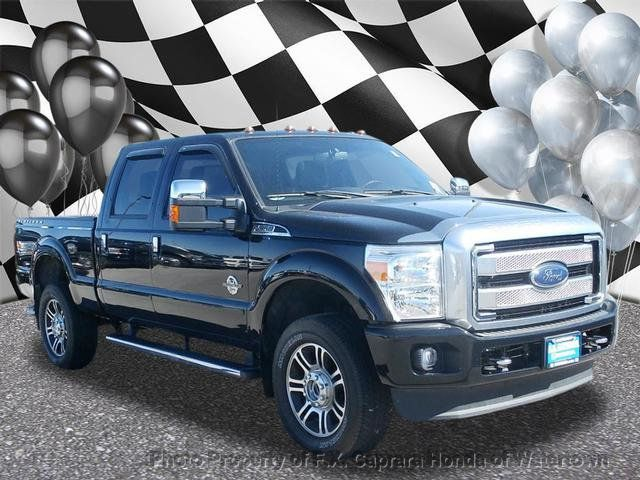 2016 Ford Super Duty F-350 SRW Platinum - 18354979 - 0
