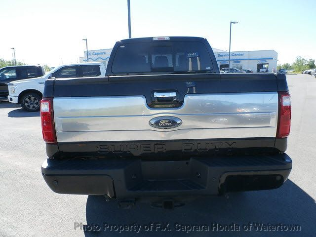 2016 Ford Super Duty F-350 SRW Platinum - 18354979 - 3