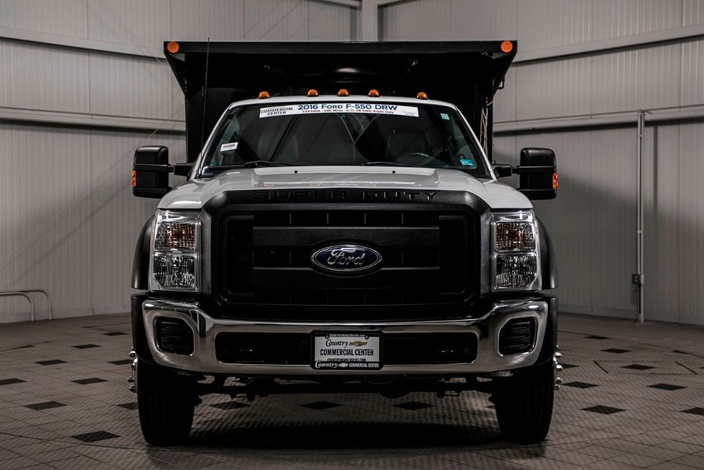 2016 Used Ford Super Duty F 550 Drw F550 12 Landscape Dump At
