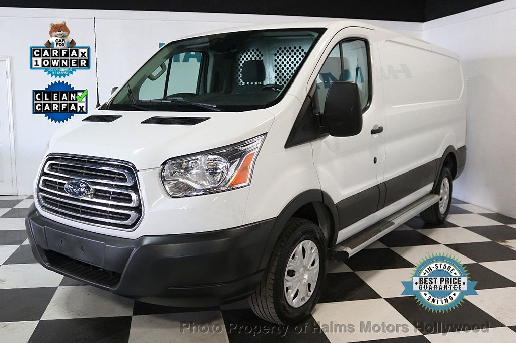 "2016 Ford Transit Cargo Van T-250 130"" Low Rf 9000 GVWR Swing-Out RH Dr - 17501719"