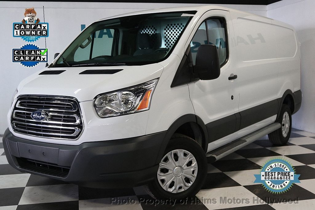 "2016 Ford Transit Cargo Van T-250 130"" Low Rf 9000 GVWR Swing-Out RH Dr - 17558783 - 0"