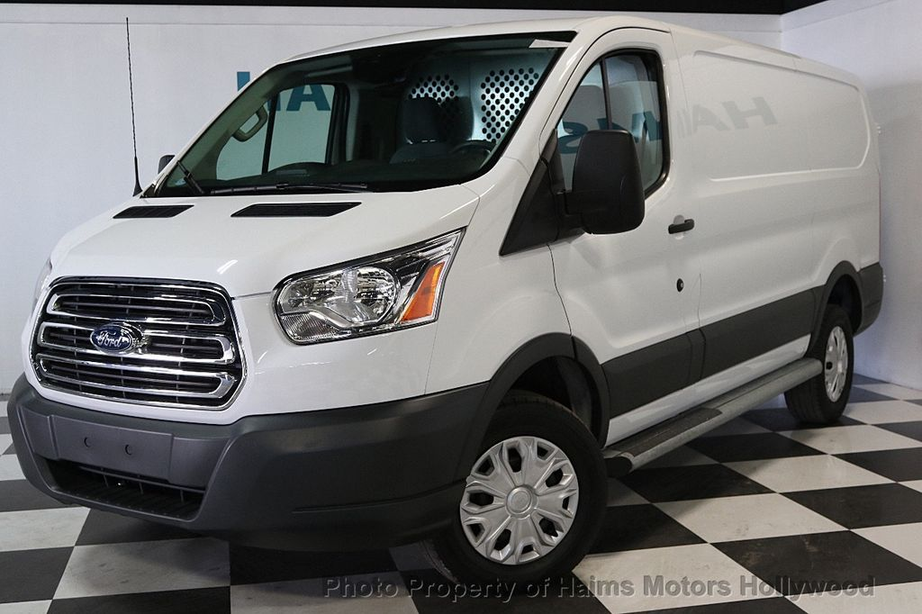 "2016 Ford Transit Cargo Van T-250 130"" Low Rf 9000 GVWR Swing-Out RH Dr - 17558783 - 1"