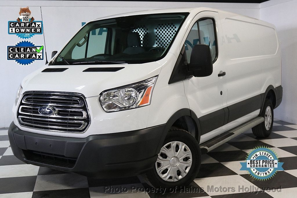 "2016 Ford Transit Cargo Van T-250 130"" Low Rf 9000 GVWR Swing-Out RH Dr - 17558860 - 0"