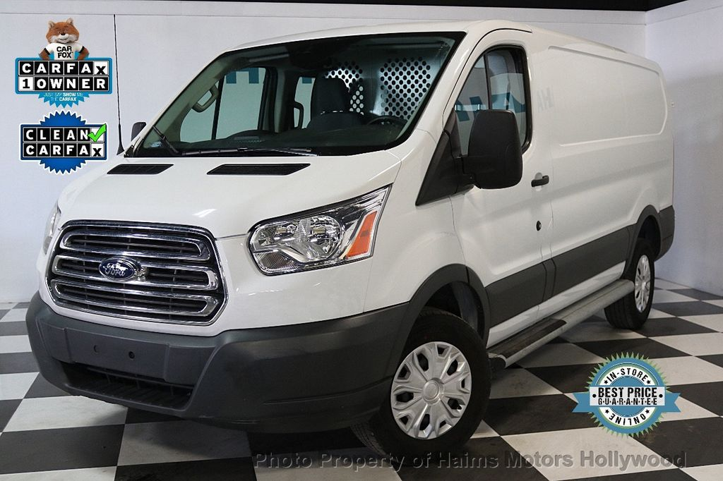 "2016 Ford Transit Cargo Van T-250 130"" Low Rf 9000 GVWR Swing-Out RH Dr - 17558868 - 0"