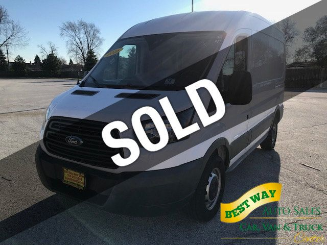 d0f6ae357e 2016 Used Ford Transit Cargo Van T-250 130