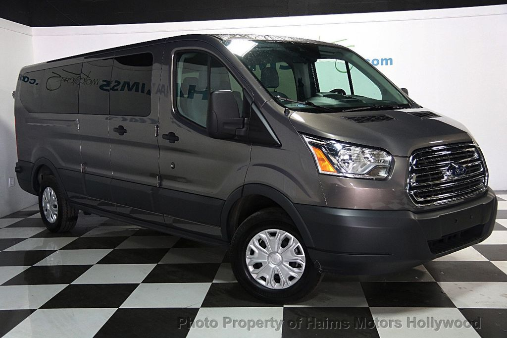 2016 used ford transit wagon t 350 148 low roof xl swing. Black Bedroom Furniture Sets. Home Design Ideas
