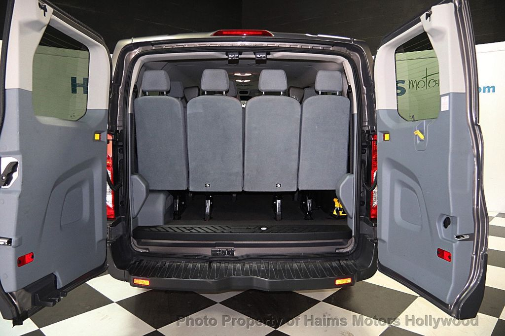 """2016 used ford transit wagon t-350 148"""" low roof xl swing-out rh dr"""