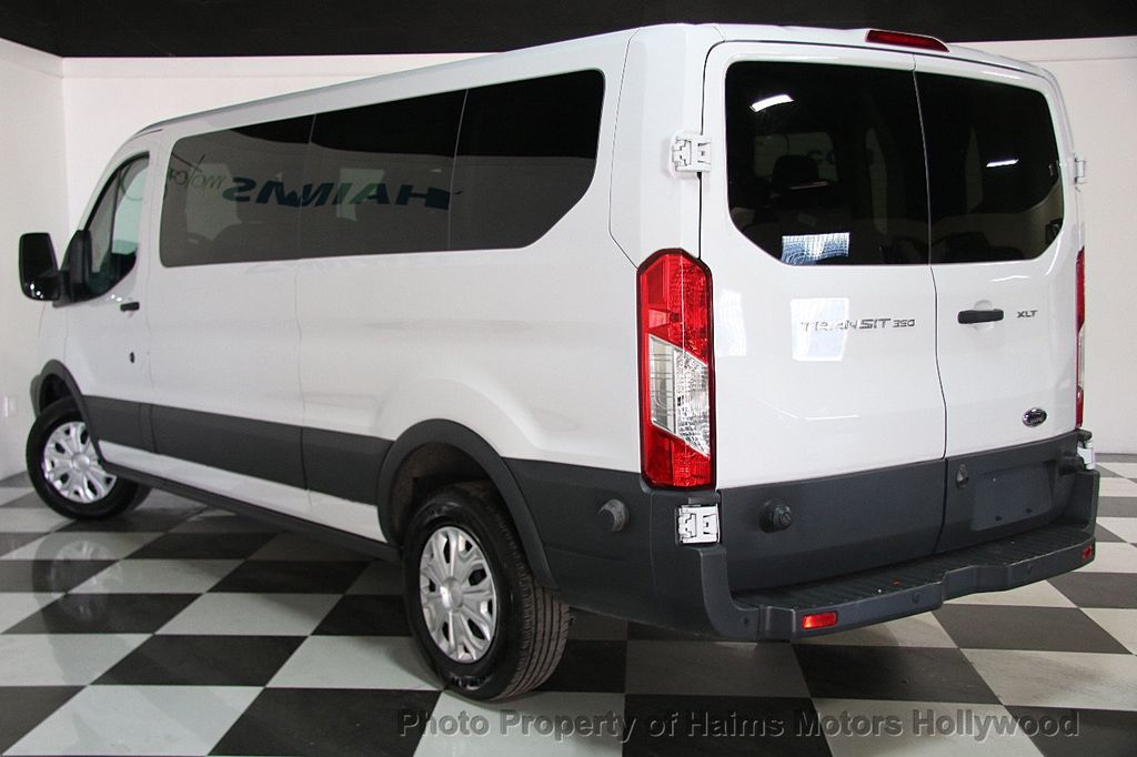 2016 used ford transit wagon t 350 148 low roof xl swing out rh dr at haims motors ft. Black Bedroom Furniture Sets. Home Design Ideas