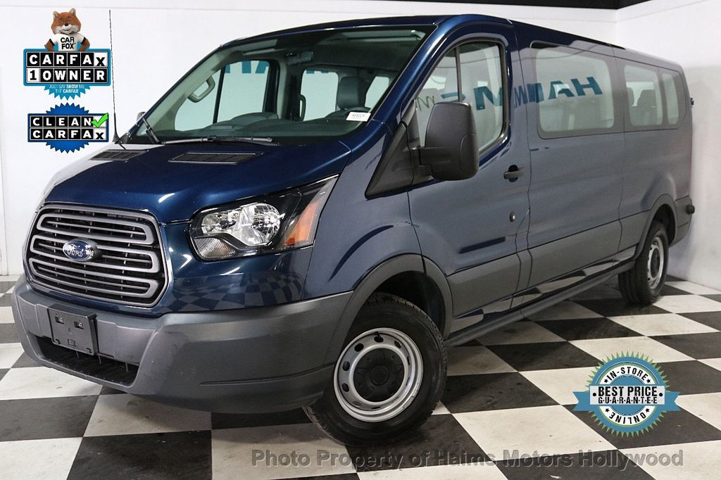 """2016 Ford Transit Wagon T-350 148"""" Low Roof XL Swing-Out RH Dr - 18459916 - 0"""