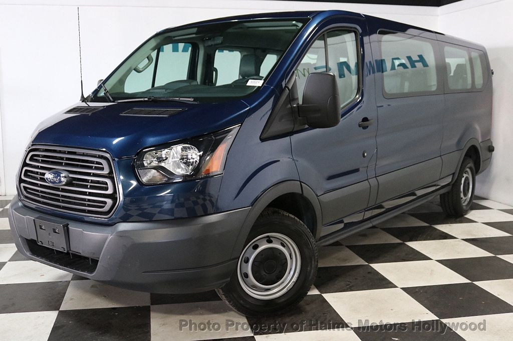 """2016 Ford Transit Wagon T-350 148"""" Low Roof XL Swing-Out RH Dr - 18459916 - 1"""