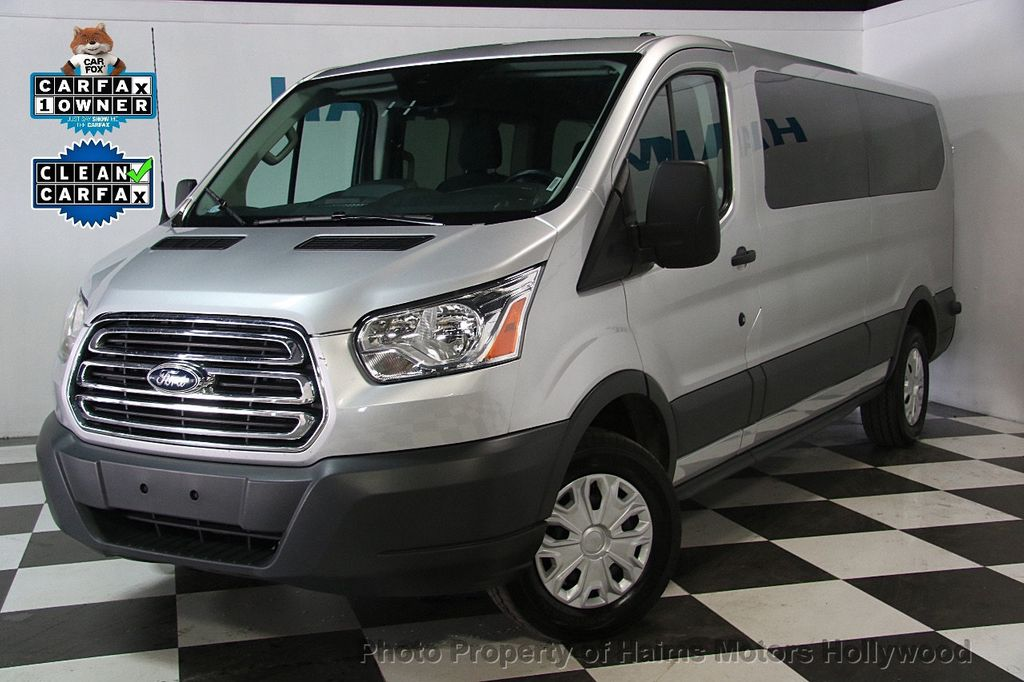 2016 used ford transit wagon t 350 148 low roof xlt sliding rh dr at haims motors hollywood. Black Bedroom Furniture Sets. Home Design Ideas