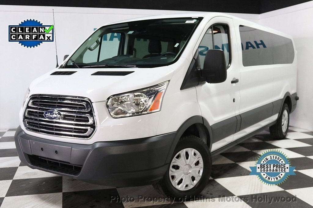 "2016 Ford Transit Wagon T-350 148"" Low Roof XLT Sliding RH Dr - 17760265 - 0"