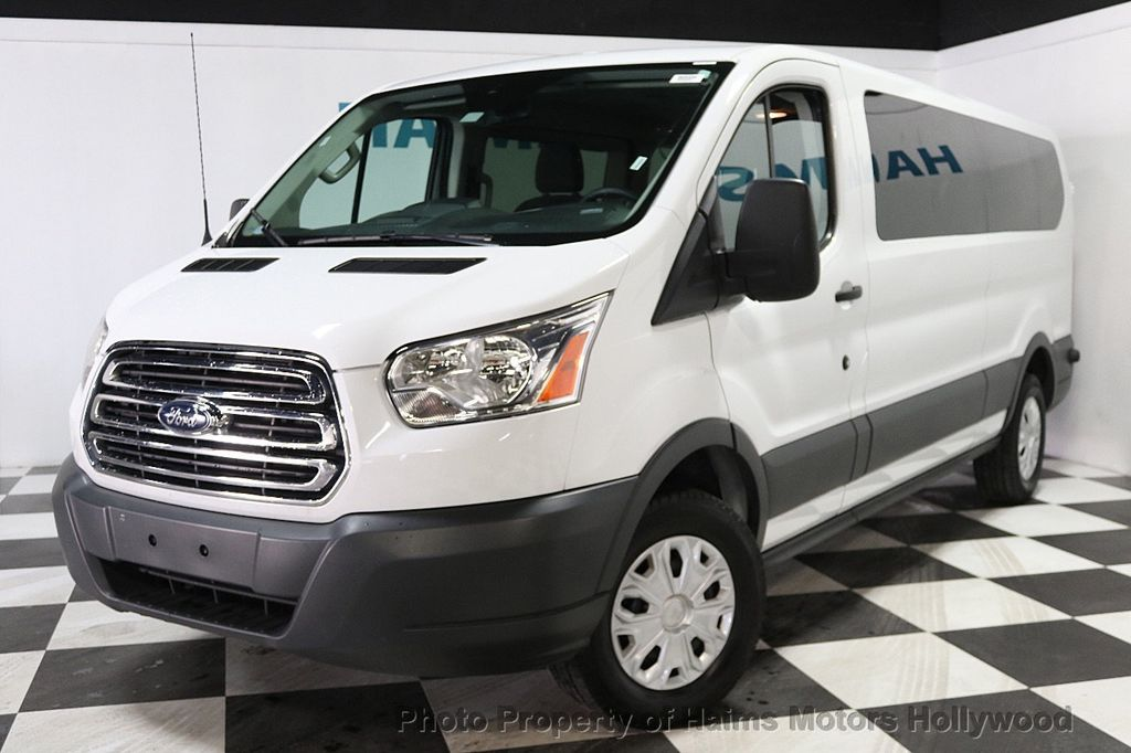 "2016 Ford Transit Wagon T-350 148"" Low Roof XLT Sliding RH Dr - 17760265 - 1"