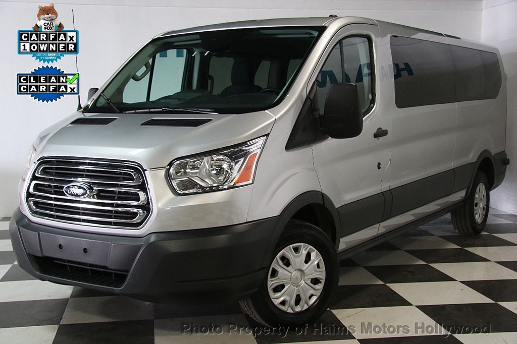 2016 used ford transit wagon t 350 148 low roof xlt swing out rh dr at haims motors hollywood. Black Bedroom Furniture Sets. Home Design Ideas