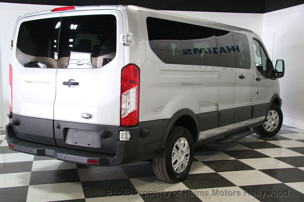 2016 used ford transit wagon t 350 148 low roof xlt swing out rh dr at haims motors ft. Black Bedroom Furniture Sets. Home Design Ideas