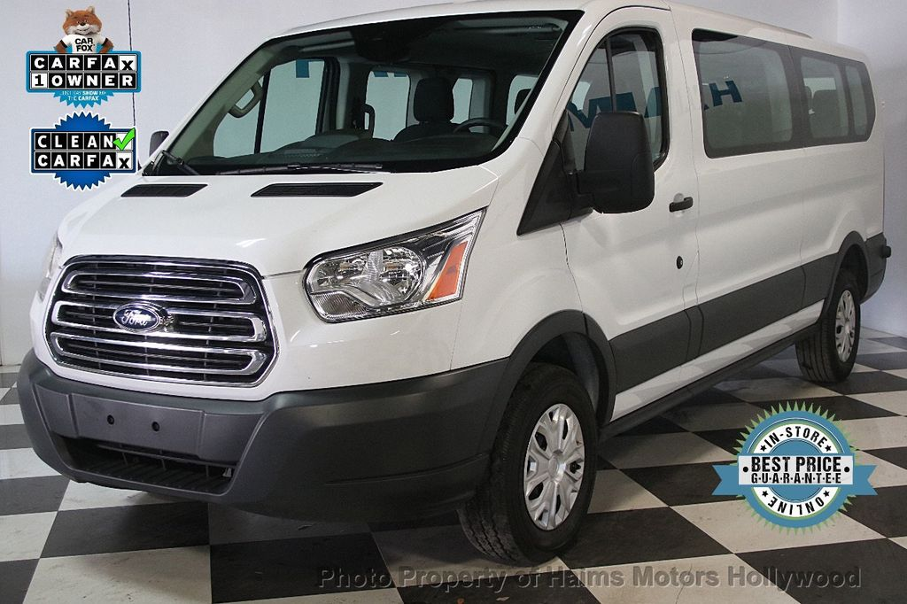 """2016 Ford Transit Wagon T-350 148"""" Low Roof XLT Swing-Out RH Dr - 17422047 - 0"""