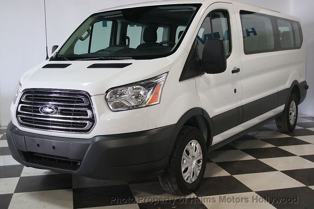 """2016 Ford Transit Wagon T-350 148"""" Low Roof XLT Swing-Out RH Dr - 17422047 - 1"""