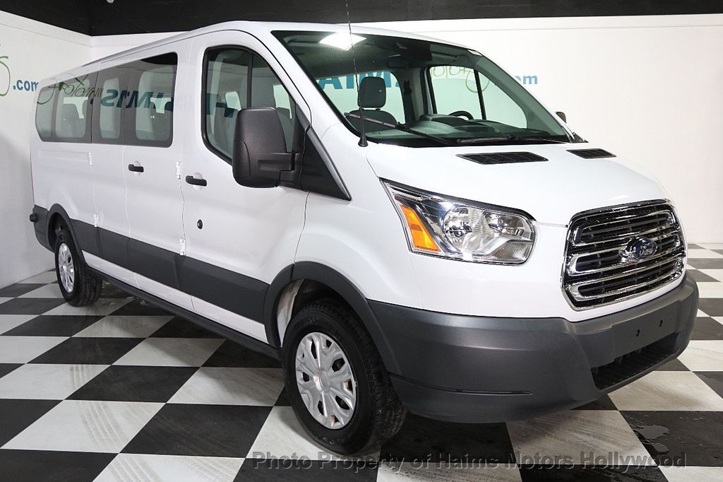 "2016 Ford Transit Wagon T-350 148"" Low Roof XLT Swing-Out RH Dr - 17760251 - 3"