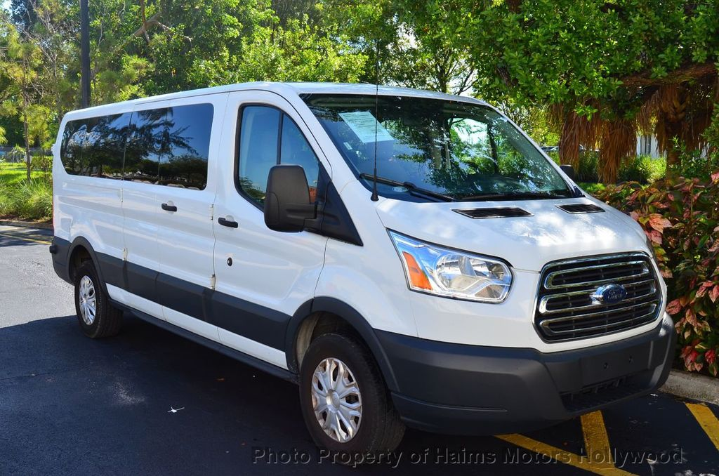 "2016 Ford Transit Wagon T-350 148"" Low Roof XLT Swing-Out RH Dr - 18098675 - 5"