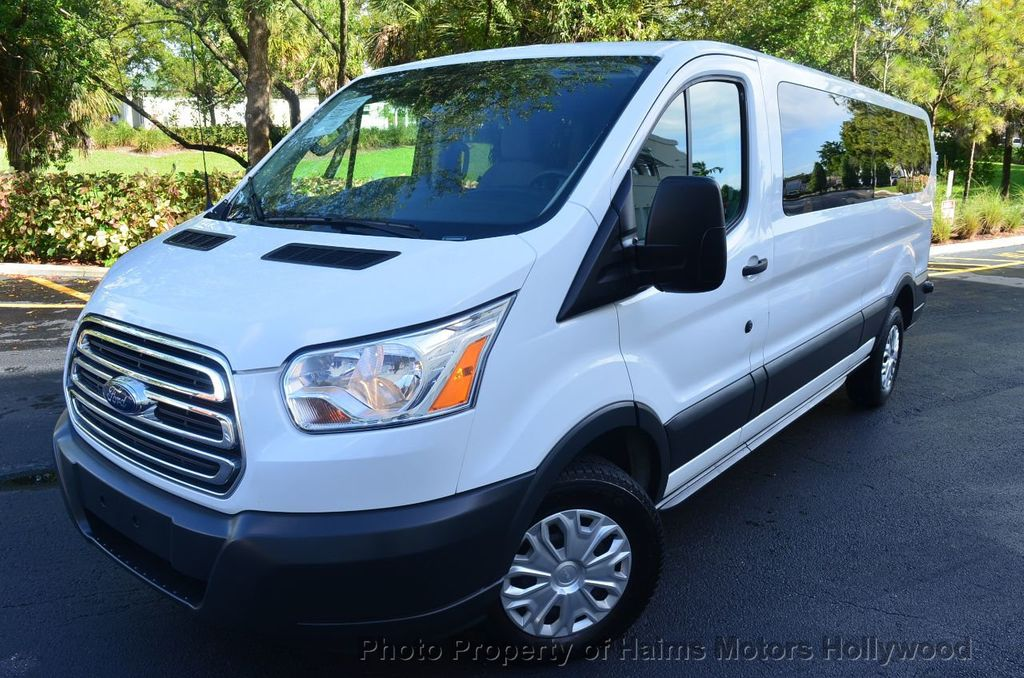 """2016 Ford Transit Wagon T-350 148"""" Low Roof XLT Swing-Out RH Dr - 18098677 - 0"""