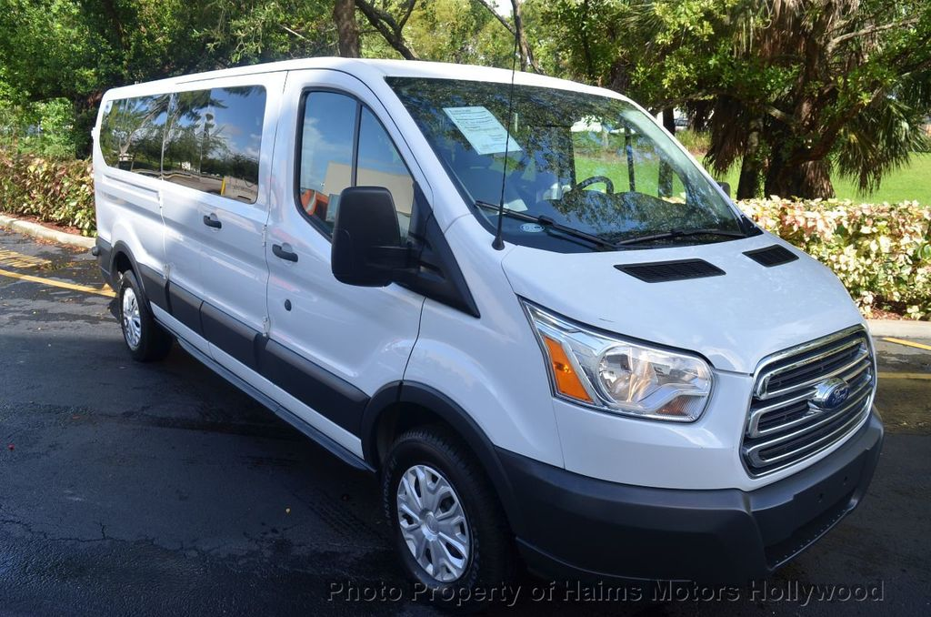 """2016 Ford Transit Wagon T-350 148"""" Low Roof XLT Swing-Out RH Dr - 18098677 - 1"""