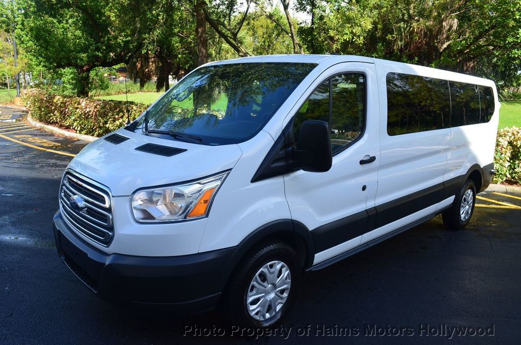 """2016 Ford Transit Wagon T-350 148"""" Low Roof XLT Swing-Out RH Dr - 18098677 - 3"""