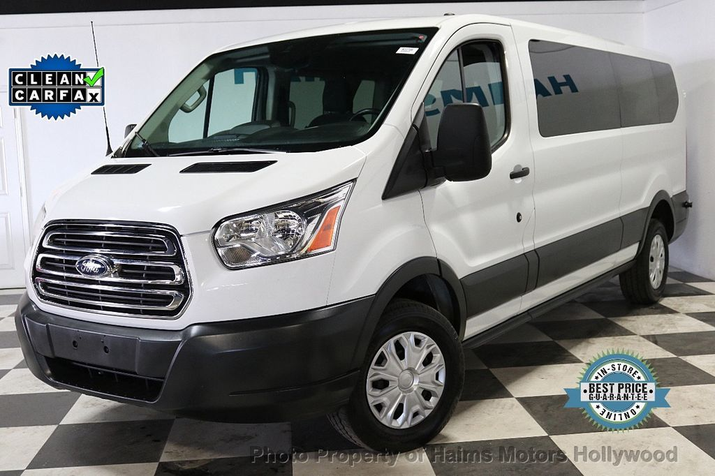 """2016 Ford Transit Wagon T-350 148"""" Low Roof XLT Swing-Out RH Dr - 18279311 - 0"""