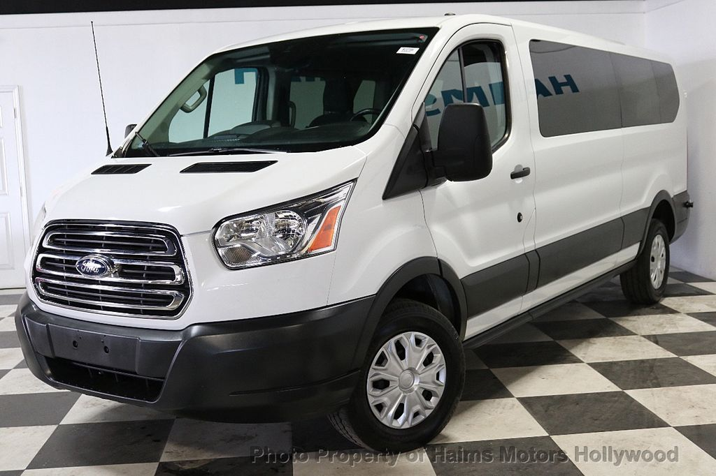 """2016 Ford Transit Wagon T-350 148"""" Low Roof XLT Swing-Out RH Dr - 18279311 - 1"""