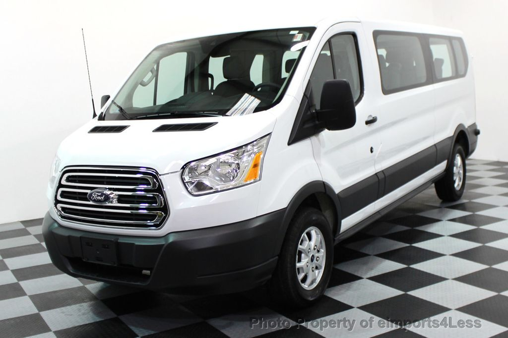 Ford Transit 350 >> 2016 Used Ford Transit Wagon Transit 350 T350 12 Passenger Van At