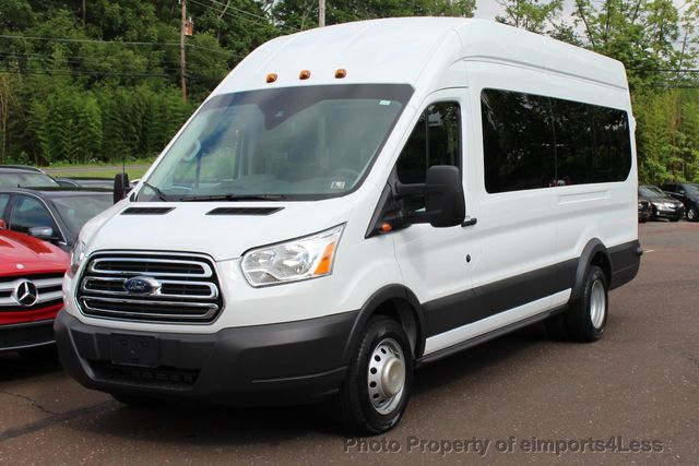 2016 Ford Transit Wagon T350 Hd Dually Extended High Roof 15 Penger Van