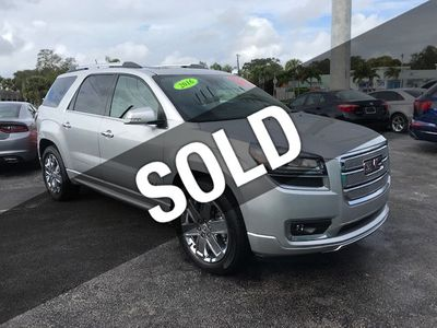 2016 GMC Acadia FWD 4dr Denali - Click to see full-size photo viewer