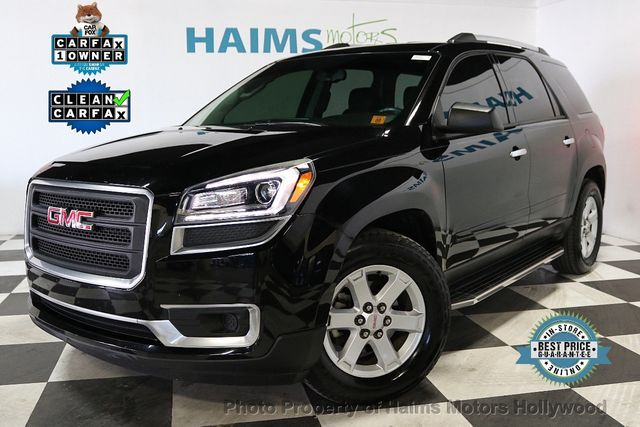2016 used gmc acadia fwd 4dr sle w sle 1 at haims motors ft lauderdale serving lauderdale lakes. Black Bedroom Furniture Sets. Home Design Ideas