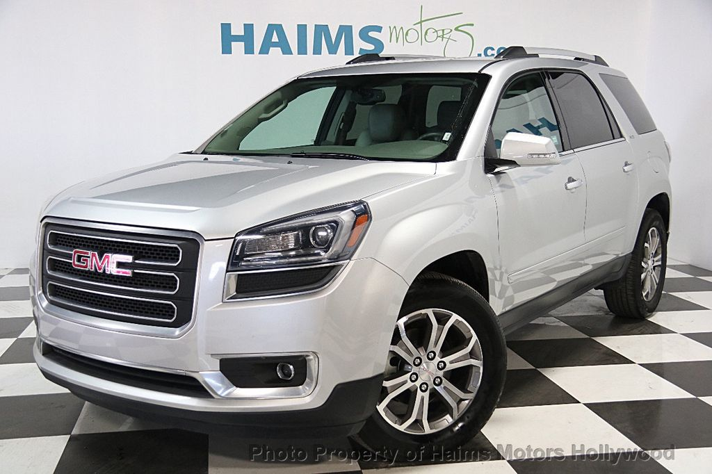 2016 used gmc acadia fwd 4dr slt w slt 1 at haims motors hollywood serving fort lauderdale. Black Bedroom Furniture Sets. Home Design Ideas