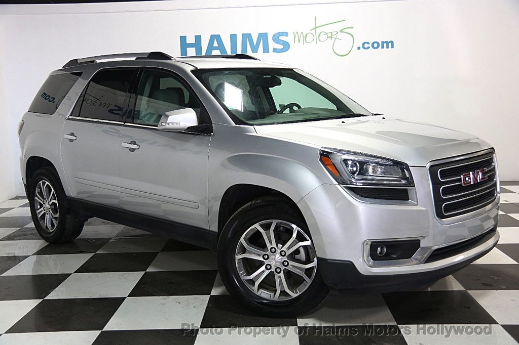 2016 used gmc acadia fwd 4dr slt w slt 1 at haims motors serving fort lauderdale hollywood. Black Bedroom Furniture Sets. Home Design Ideas