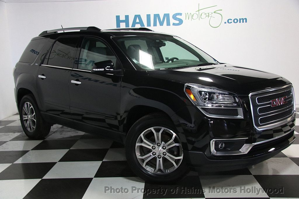 Gmc Dealer Miami >> 2016 Used GMC Acadia FWD 4dr SLT w/SLT-1 at Haims Motors Serving Fort Lauderdale, Hollywood ...