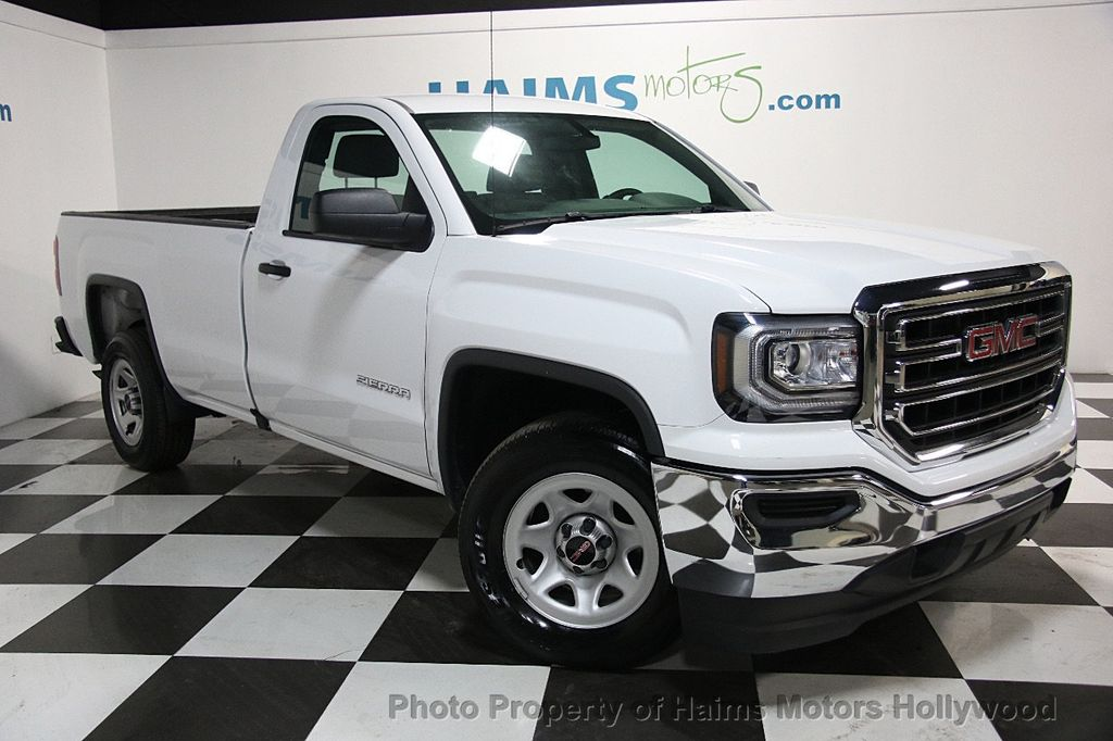 "Gmc Dealer Miami >> 2016 Used GMC Sierra 1500 2WD Regular Cab 119.0"" at Haims Motors Serving Fort Lauderdale ..."