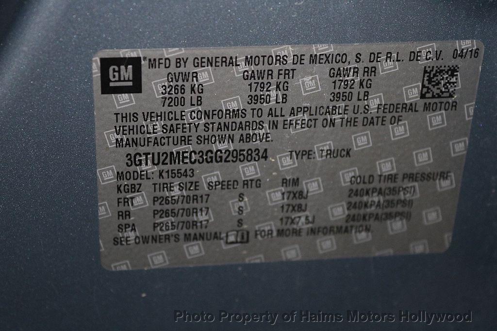 """2016 GMC Sierra 1500 4WD Crew Cab 143.5"""" SLE - 17525650 - 33"""