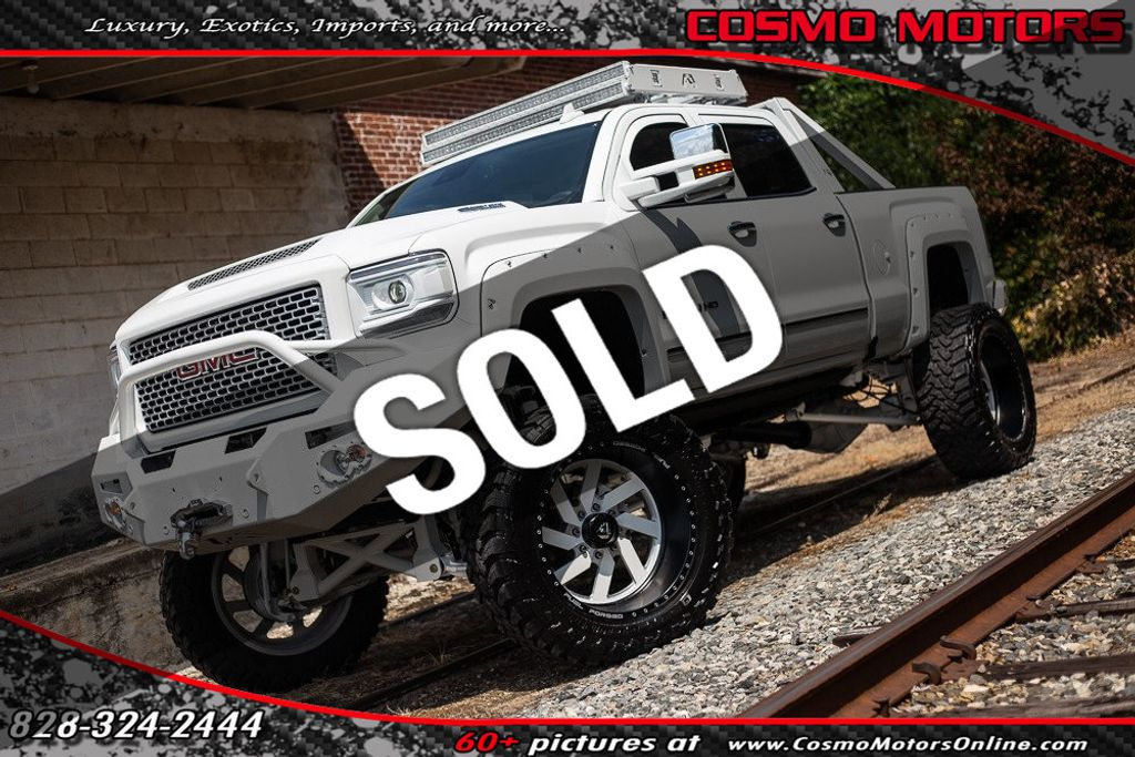 2016 Gmc Sierra 2500hd Crew Cab >> 2016 Used Gmc Sierra 2500hd 4wd Crew Cab 153 7 Denali At Cosmo Motors Serving Hickory Nc Iid 19193479
