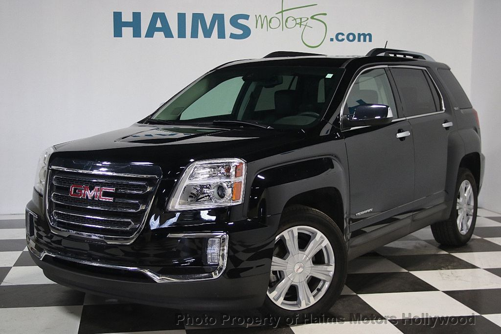 2016 Used Gmc Terrain Fwd 4dr Slt At Haims Motors Serving Fort