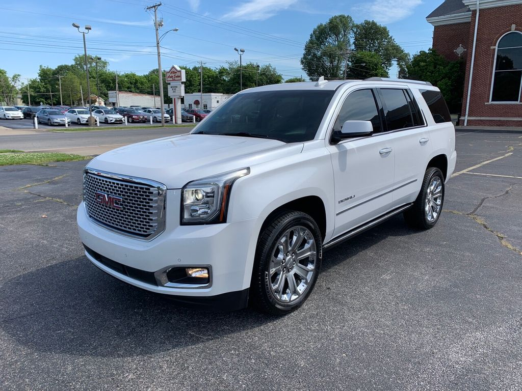 Used Yukon Denali >> 2016 Used Gmc Yukon 4wd 4dr Denali At Allen Auto Sales Serving Paducah Ky Iid 19025096